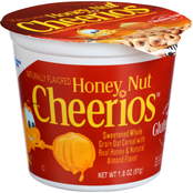 Kellogg's Honey Nut Cheerios Cereal Cup 60 pk., 1.3 oz.