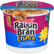 Kellogg's Raisin Bran Crunch Cereal Cup 60 pk.
