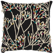 Rizzy Home Botanical 20 x 20 in. Polyester Filled Pillow