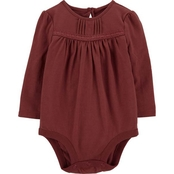 OshKosh B'gosh Infant Girls Pintuck Bodysuit