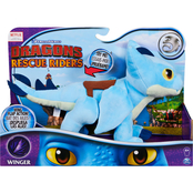 Spin Master Dreamworks Dragons Rescue Riders 15 in. Deluxe Winger Plush