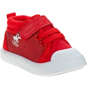 Beverly Hills Polo Club Infant Boys Red Sneakers