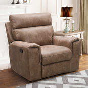 Abbyson Lachlan Fabric Recliner