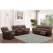 Abbyson Thomas Collection Fabric Reclining 3 pc. Set