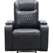 Abbyson Quincey Collection Theater Recliner