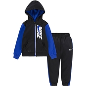 Nike Toddler Boys Colorblocked Therma Jacket and Pants 2 pc. Set