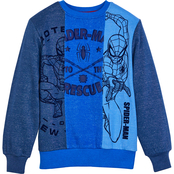 Marvel Boys Spider-Man Pullover Top