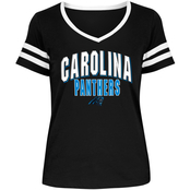 New Era Cap Co Inc Women's NFL Baby Jersey V Neck Tee