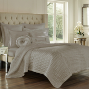 J. Queen New York Satinique Coverlet