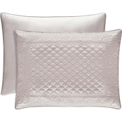 J. Queen New York Zilara Pearl King Quilted Sham