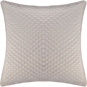 J. Queen New York Zilara Silver Euro Quilted Sham