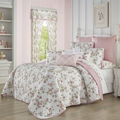 Royal Court Rosemary Rose Quilt Set