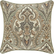 J. Queen New York Vienna Spa 18 in. Square Decorative Throw Pillow