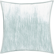 Oscar Oliver Vince Aqua 20 in. Square Decorative Throw Pillow