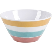 Gibson Home Tropical Sway Stripe Bowl 6 in.