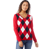 Tommy Hilfiger Ivy Tricolor Argyle Sweater