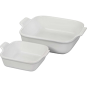 Le Creuset Heritage Square Dishes Set of 2