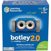 Learning Resources Botley 2.0 Coding Robot Activity 77 pc. Set