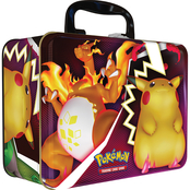 Pokemon Fall Collectors Chest Tin