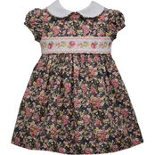 Bonnie Jean Toddler Girls Smocked Dress