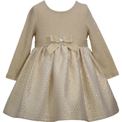 Bonnie Jean Infant Girls Sweater to Brocade