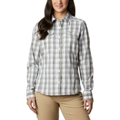 Columbia Plus Size Silver Ridge Lite Plaid Shirt