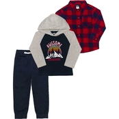 Little Rebels Toddler Boys 3 pc. Awesome Adventures Pants Set