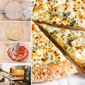 The Gourmet Market Gourmet White Pizza Kit 5 pk.