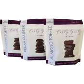 Curly Girlz Candy Chocolate 6 pk., 4 oz.