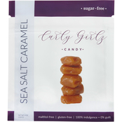 Curly Girlz Candy Sugar Free Sea Salt Caramel 6 ct., 4 oz. each