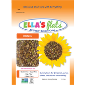 Ella's Flats All Seeds Savory Crisps Cumin 6 units/ 6.5 oz. each