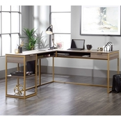 Sauder International Lux L Desk