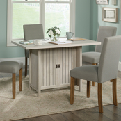 Sauder Costa Conference Table, Chalked Chestnut