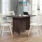 Sauder Costa Conference Table, Coffee Oak