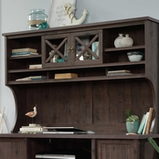 Sauder Costa Large Hutch, Coffee Oak