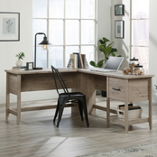 Sauder Summit Station L Desk, Laurel Oak