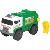Dickie Toys Motorized Garbage Truck with Light and Sound