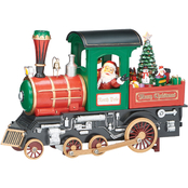 Roman 6.7 in. Musical LED Train Engine
