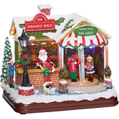 Roman Musical LED Kringle Haus