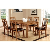 Furniture of America Freeman I 7 pc. Dining Set
