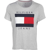 Tommy Hilfiger Plus Size Embroidered Print Logo Tee