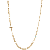 Lucky Brand Cross Chain Necklace