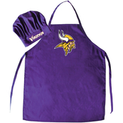 NFL Team Chef Hat and Apron Set