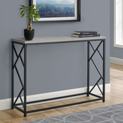 Chelsea Home 44 in. Metal Hall Console