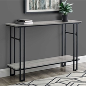 Chelsea Home 48 in. Metal Hall Console