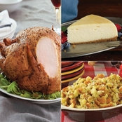 Kansas City Steak Co Turkey, Cornbread Dressing & Cheesecake Meal