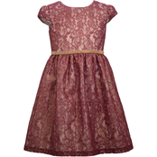 Bonnie Jean Little Girls Dark Lace Dress