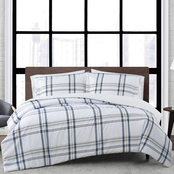 London Fog Kent Plaid Comforter Set