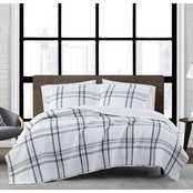 London Fog Kent Plaid Quilt Set