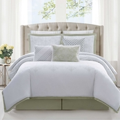 Charisma Belaire Cotton Eyelet 4 pc. Comforter Set